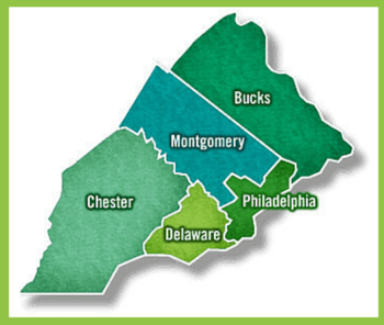 Philadelphia and Surrounding Suburbs